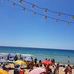 Beautiful beach on a beautiful day