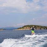 Using the wake-board