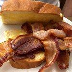 bacon on brioche