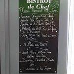 Le menu RENAUD'mets