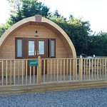 Our pod - had everything you needed (apart from running water!)