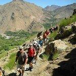 Hiking in imlil