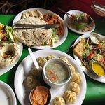 Special Salad, Momos, Falafel