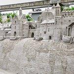 Sand sculpture, Garderen, The Netherlands