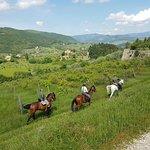 Tuscan hills near Florence