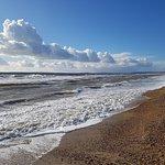 Nearby coast - Milford on Sea