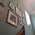 Gallery wall at Wildwood