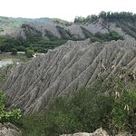 Tsaoshan Moonscape Scenic Area: 砂山が広がる不思議な光景