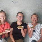 Bara (lentil bread) is delicious!
