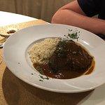 Carrilleras de ternera con arroz