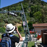 Gubbio, at the bottom of the Funicular, takes you up to the Abbey of Sant' Ubaldo