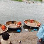Round Boats at sangam