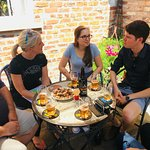 Food pairing with Brewtown Tours at Half Moon Brewery