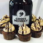 Cupcake DownSouth's Mocha Stout cupcakes - from our line of alcohol-infused After Dark cupcakes