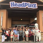 Officially HeadPinz Naples with ribbon cutting with Chamber July 2018