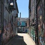 Photo of Kensington Market and Spadina Avenue