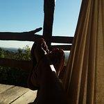 Descansando com uma paisagem perfeita