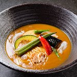 8 Kind of Vegetables Curry Udon