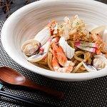 Stir Fried Seafood Udon