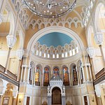 Inside the Grand Choral Synagogue