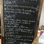 Todays menu