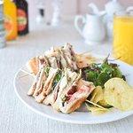 Our Very Popular Club Sandwich