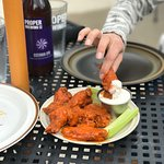 Start off with some Traditional Buffalo Wings