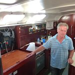 George his father in the galley