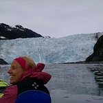 Approaching the Holgate glacier