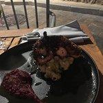 Fresh octopus so delicious