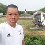 Selfie with Treptower Park