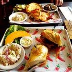 red burger and banh mi