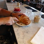 wooden croissant