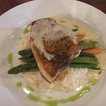 Great piece of swordfish cooked perfectly!