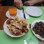 gazpacho, patatas bravas, and...