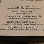 YUM the double baked truffle potato