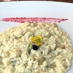 Risotto with branzino made to order. Totally worth the wait!
