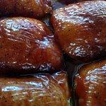 Slow smoked chicken