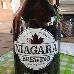 Niagara Brewing Company Growler waiting for Pumpkin beer.