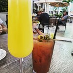 mimosas and bloody mary