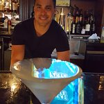 The perfect martini and the perfect Bartender. The food is amazing it always has been and always