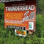 Thunderhead Falls resmi