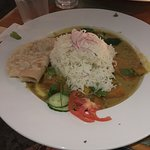 Entree: Vegetable Curry