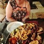 De Mixed-grill platte