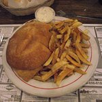 MA - NEW BEDFORD - ANTONIO'S #1 - FRIED FISH SANDWICH