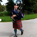 Bagpipes at Blair Castle