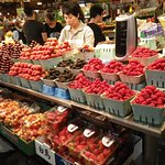 One of the produce booths