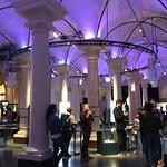Inside the exhibit