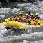 Rafting fun with Friends