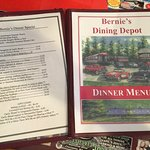 The menu is many pages long, with a separate menu for specialty drinks and dessert
